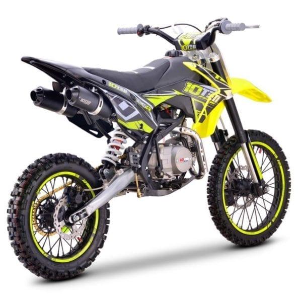 10Ten 125R Dirt Bike 17-14 Wheels
