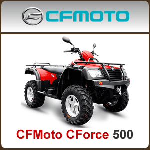 CFMoto CForce 500 CF500 Spare Parts
