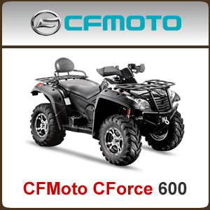 CFMoto CForce 600 CF625 Spare Parts