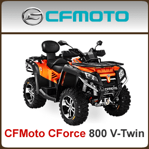 CFMoto CForce 800 V-Twin Spare Parts