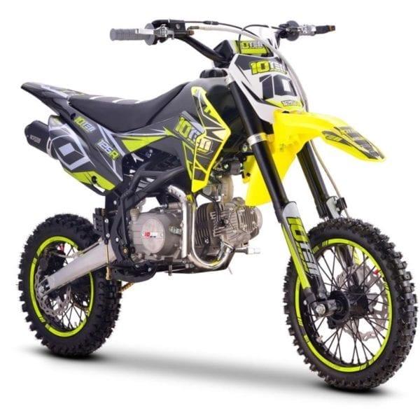 10Ten 125R Dirt Bike 14-12 Wheels