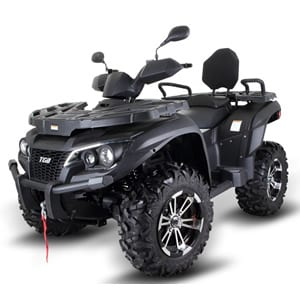 TGB Blade 1000LT Deluxe EURO 4 Road Legal Quadbike in Black