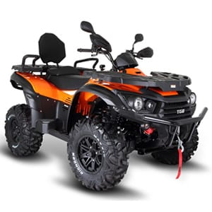 TGB Blade 600LT Road Legal Quadbike Orange