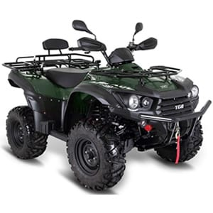 TGB Blade 600SL Road Legal Quadbike Green