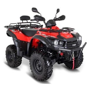TGB Blade 600SL Road Legal Quadbike Red