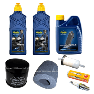 Genuine CFMoto 500 Service Kit with Coolant