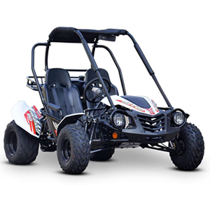 mudrocks trail blazer 150 off road buggy in white