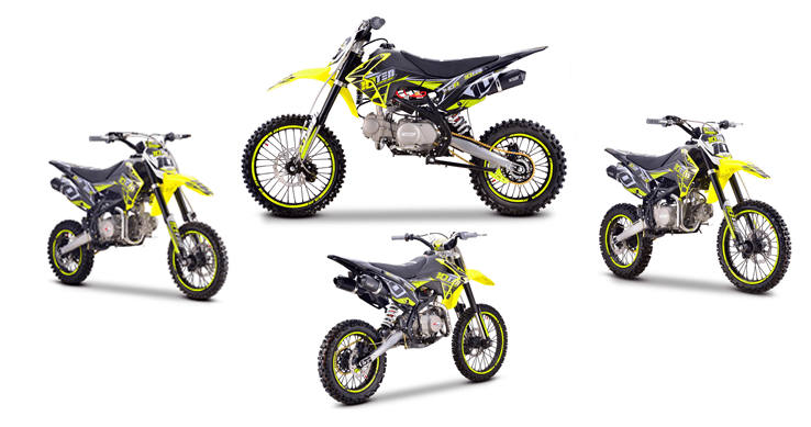 New range of 10Ten Pitbikes in stock at Extreme Quads