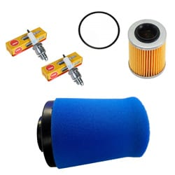 Genuine CFMoto CForce 800 Oil Filter, Air Filter and NGK Spark Plugs