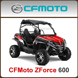 CFMoto ZForce 600 CF625-3 Spare Parts