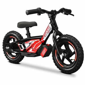 Electric Balance Bike in Black available at Extreme Quads
