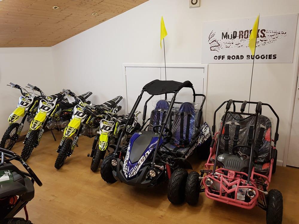 quadbike store showroom