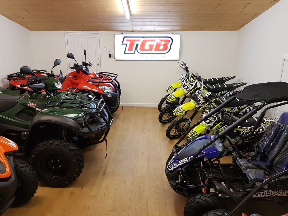 quadbike store showroom