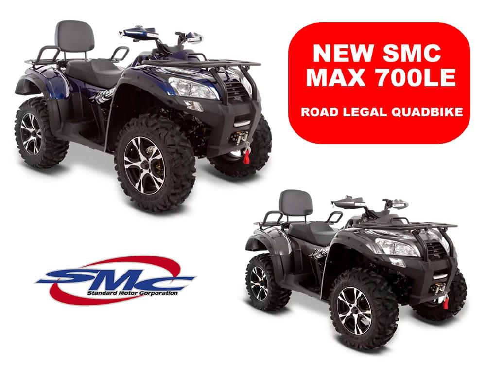 SMC MAX 700LE quadbike